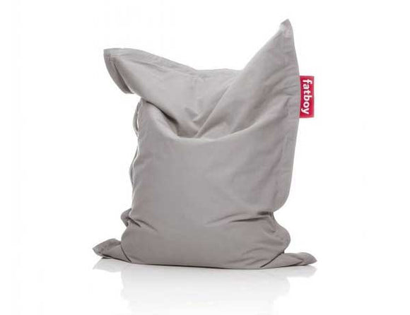 Silver Grey Junior Stonewashed Fatboy - nuatua-bean-bags