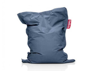 Blue Junior Stonewashed Fatboy - nuatua-bean-bags
