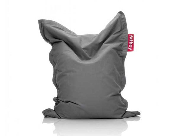 Grey Junior Stonewashed Fatboy - nuatua-bean-bags