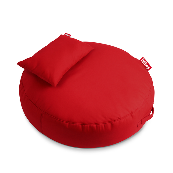 Red Fatboy Pupillow - nuatua-bean-bags