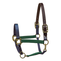 Perri's Color Vision Halter Navy/Hunter