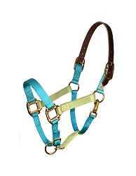 Perri's Color Vision Halter Light Blue Celery