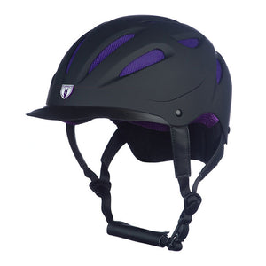 G.T Reid Sportage Hybrid Helmet 8700 black on purple