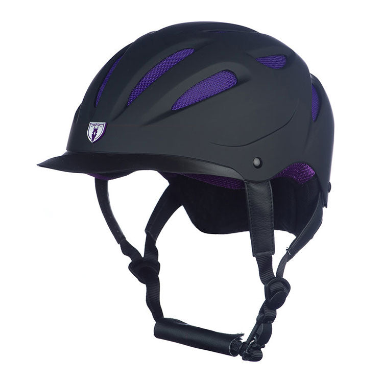 G.T Reid Sportage Hybrid Helmet 8700 black on royal blue
