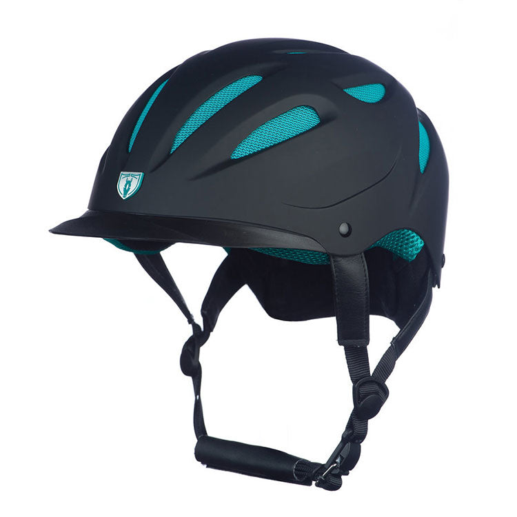 G.T Reid Sportage Hybrid Helmet 8700 black on teal