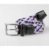 USG Casual Belt Lilac Rose Black