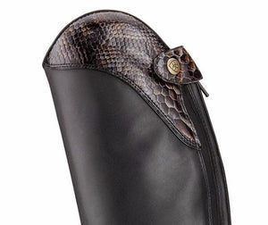 ariat heritage ellipse cobra cuff detail