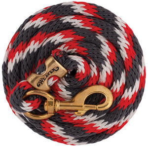 Weaver 10' Poly Lead Graphite Red White