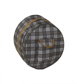 centaur helmet bag blue corn plaid