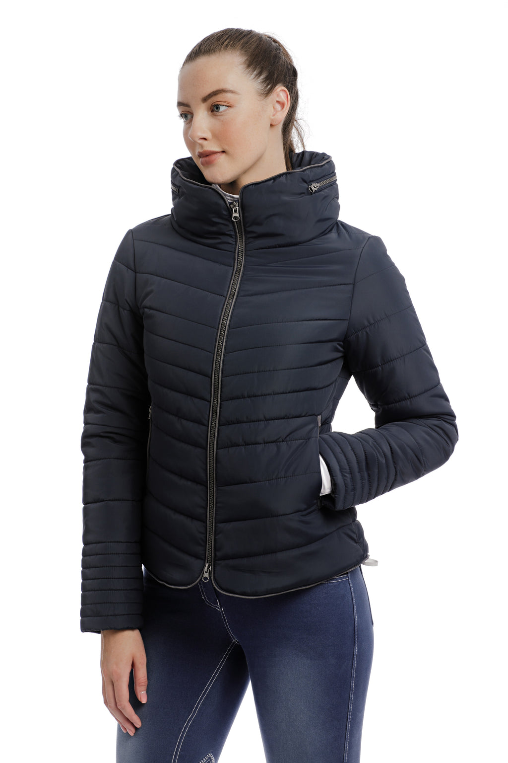 Horseware Maya Padded Jacket Navy