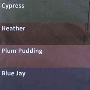 Tailored Sportsman Trophy Hunter Color Breech Mid Rise Low Rise Front Zip Side Zip Cypress Heather Plum Pudding Blue Jay