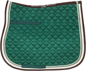 USG A/P Pad Dark Green Ecru Brown