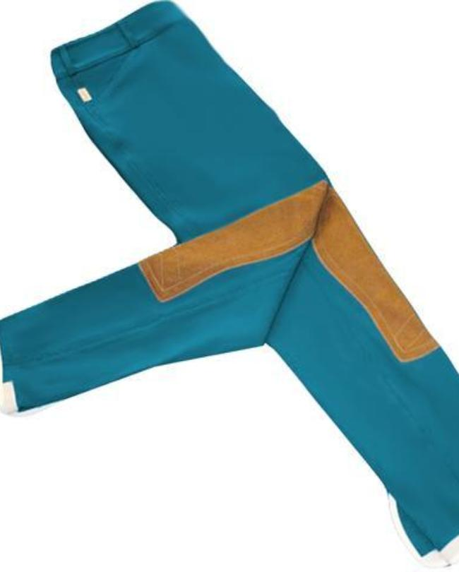 Girl's Tailored Sportsman Trophy Hunter Breeches Peacock