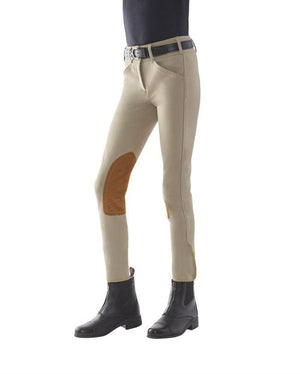 Tailored Sportsman Girls Trophy Hunter Front Zip Breeches