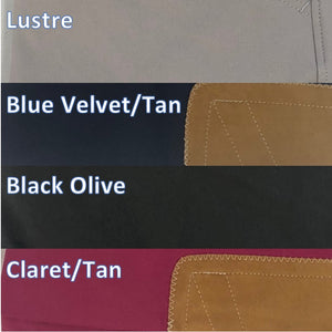 Tailored Sportsman Trophy Hunter Color Breech Mid Rise Low Rise Front Zip Side Zip Lustre Blue Velvet Black Olive Claret Tan