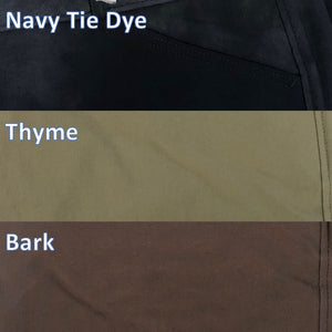 Tailored Sportsman Trophy Hunter Color Breech Mid Rise Low Rise Front Zip Side Zip Navy Tie Dye Thyme Bark