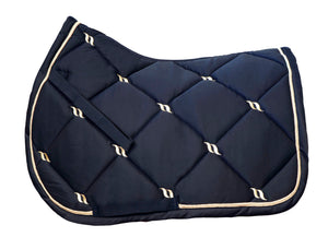 Back On Track Nights Collection All Purpose Saddle Pad Blue