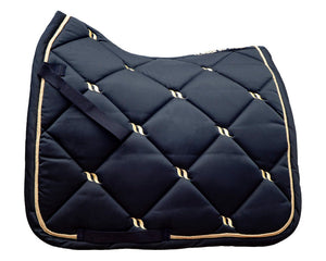 Back On Track Nights Collection Dressage Saddle Pad Blue