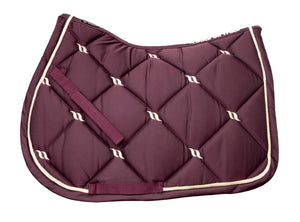 Back On Track Nights Collection All Purpose Saddle Pad Ruby