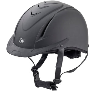 ovation deluxe schooler black with black vents