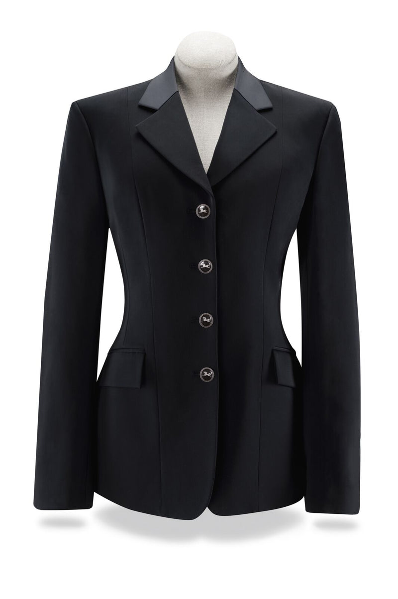 r. j. classics palm show coat greyon black