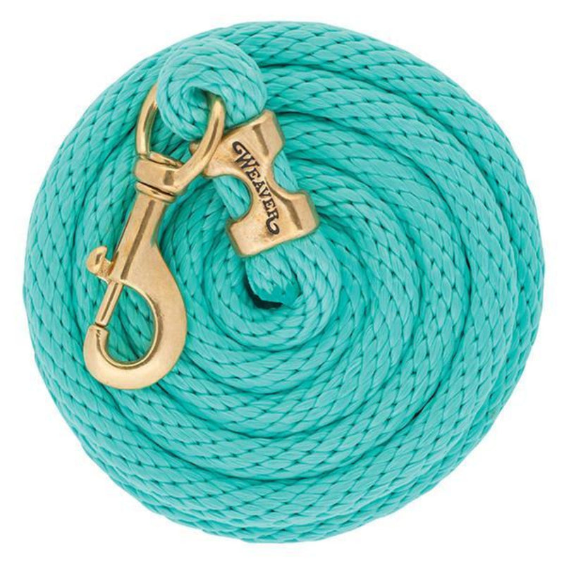 Weaver 10' Poly Lead French Blue Coral Mint