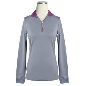 EIS Silver/Eggplant Cold Weather Shirt