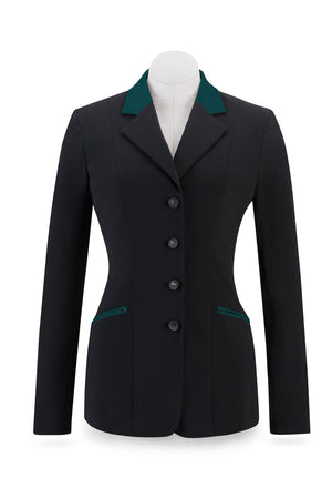r. j. classics victory show coat black hunter green