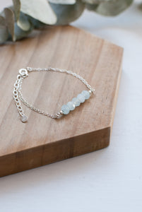 Blue Gemstone Bracelet
