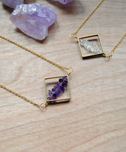 Geometry Amethyst Necklace
