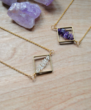 Geometry Crystal Necklace
