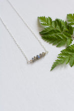 Labradorite Rondelle Necklace