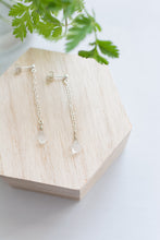 Moonstone Cascade Earrings