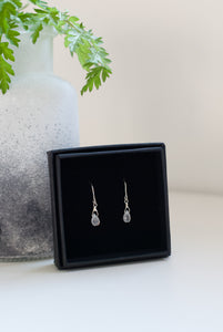 Tiny Teardrop Earrings