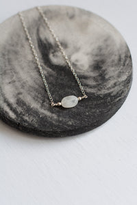 Moonstone Aurora Necklace