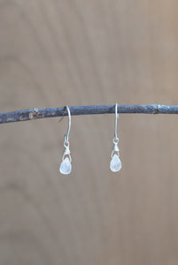 Moonstone Teardrop Earrings