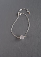 Raw Rose Quartz Bracelet