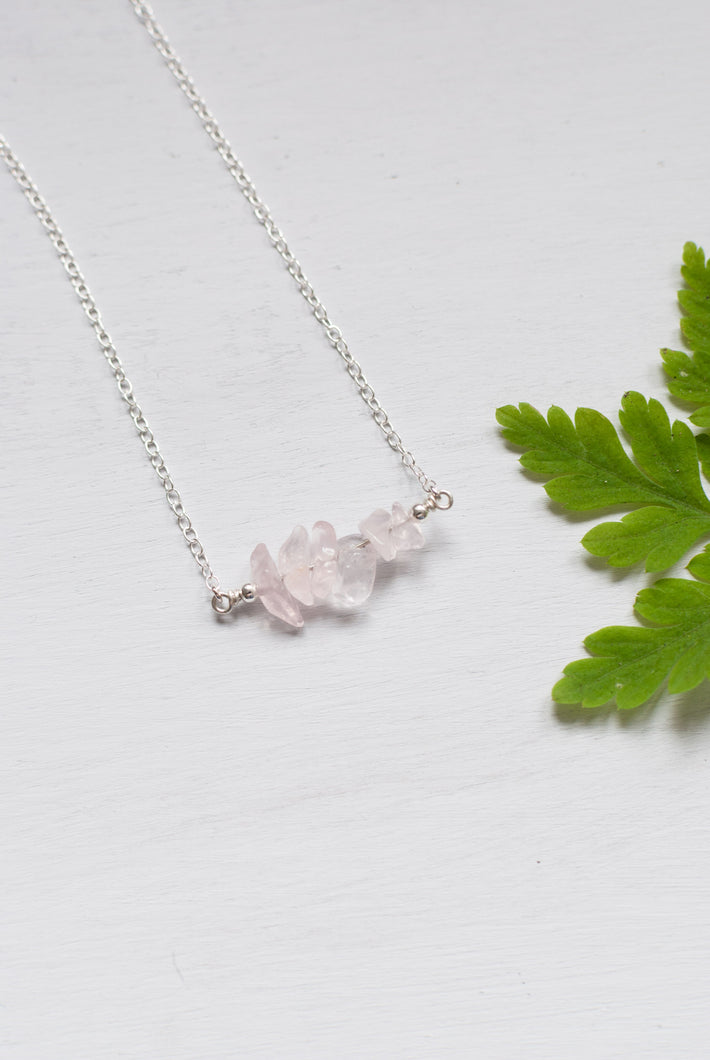 Rose Quartz Necklace