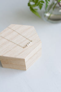 Minimal Silver Necklace