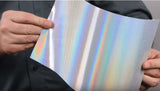 60/40 Holographic Window Perf – Dual Liner (suitable for UV Printers as well as Latex & Sol./Eco-Sol.)