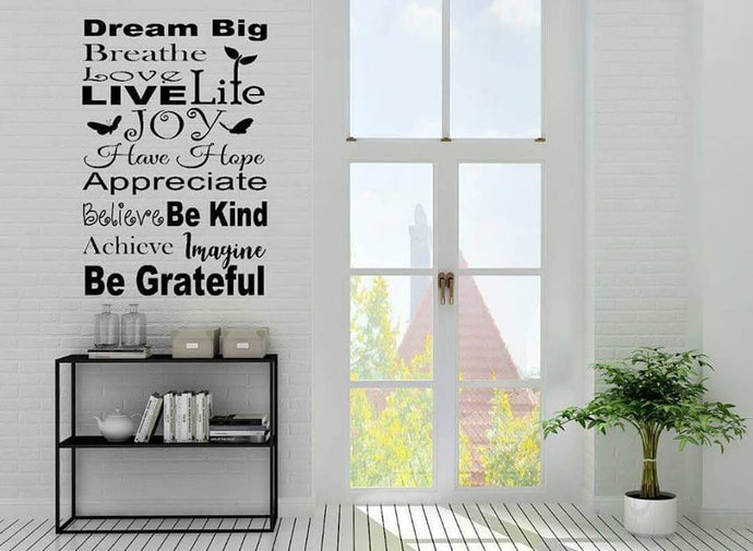JOY - Emjay Alley Wall Decals