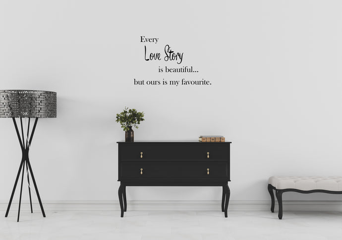 Love Story - Emjay Alley Wall Decals