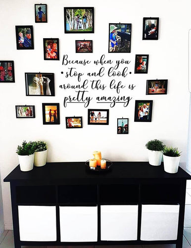 Life Is Amazing - Emjay Alley Wall Decals
