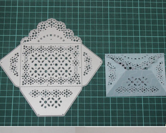 new lace envelope metal die-cut model diy handmade papercrafts tool with cutting machine