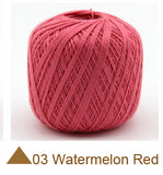 200 gram Cheap Lace  Cotton Yarn summer  lace yarn For Crocheting  Knitting By 1.25mm Crochet Hooks 50gram*4 balls Free shipping