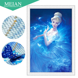 Diamond Embroidery, 5D Diamond painting, Diamond mosaic girl