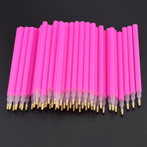 10pcs DIY 5D Diamond Painting Stitch Pencil Pen Tool for Squre Round Diamond Embroidery Rhinestone Mosaic Paint E2S