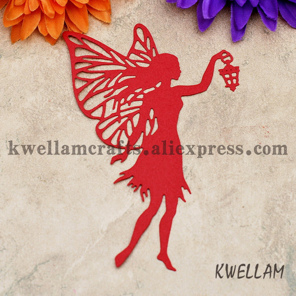 Angel Lantern Scrapbook DIY album Card Paper Card Maker Metal Die Cut Stencil Decoration Die Cutting Template KW710115