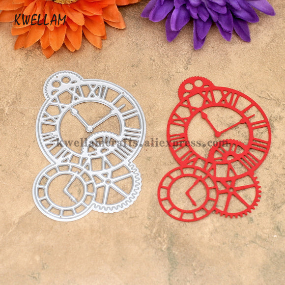 Gear Memory Metal Die cutting Dies For DIY Scrapbooking Photo Album Decorative Embossing Folder KW7041013