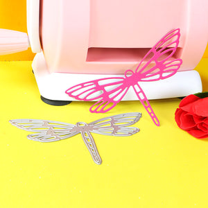 1pc Large dragonfly stencil metal Cutting dies for DIY papercraft projects Scrapbook Paper Album greeting cards paper work deco